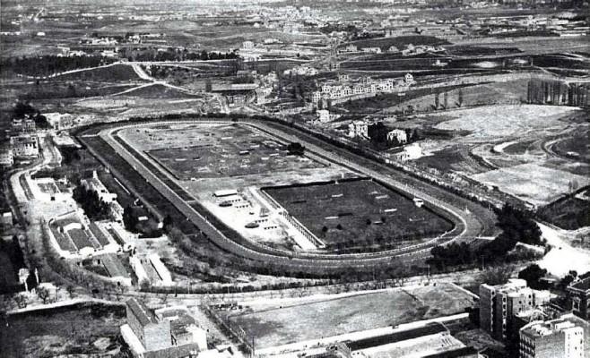 Der erste Clásico fand im Hipodromo in Madrid statt (Quelle: urbancidades.wordpress.com)