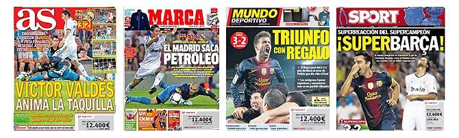 Die Schlagzeilen der spanischen Sportpresse