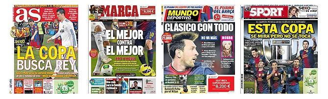Vorschau spanische Sportpresse (30.01.2013)