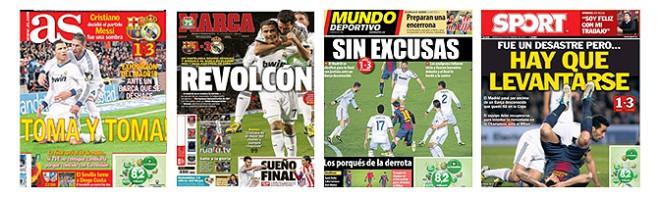 Die Schlagzeilen der spanischen Sportpresse zum 1-1