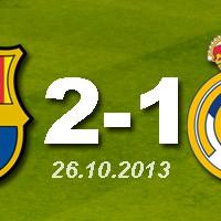 FC Barcelona 2 - 1 Real Madrid (26.10.2013)