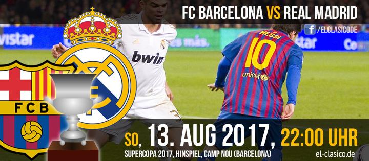 FC Barcelona - Real Madrid (13.07.2017)