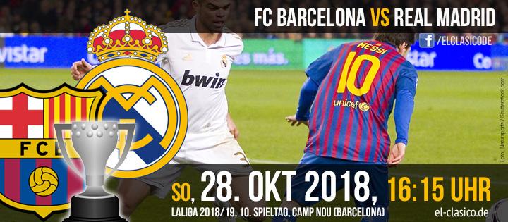 FC Barcelona - Real Madrid (28.10.2018)