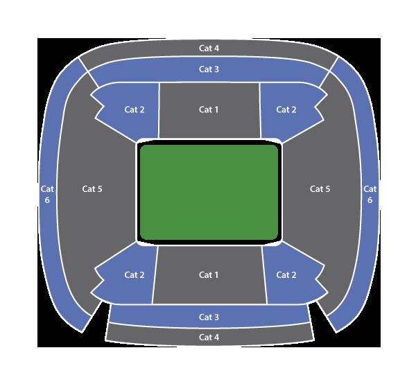 Sitzplatzkategorien Santiago Bernabéu
