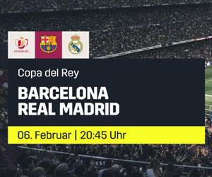 Copa del Rey Clásico live auf DAZN